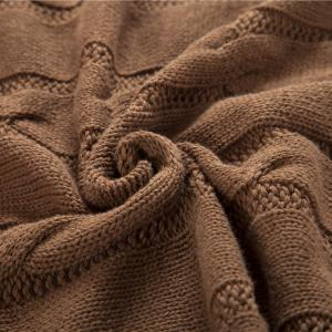 New Products all Cotton Knitting Yarn Leisure Blanket -