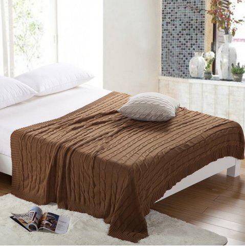 Unique New Products all Cotton Knitting Yarn Leisure Blanket