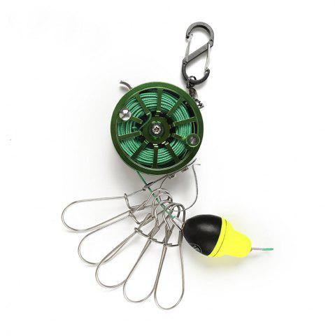 Unique Ilure Fresh Water 60 Raft Fly Portable Fish Lock
