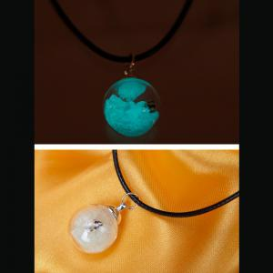Women's Necklace All Match Brief Design Luminous sand Small conch Chic Exquisite Noctilucent Necklace Accessory -