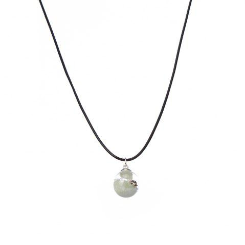 Fancy Women's Necklace All Match Brief Design Luminous sand Small conch Chic Exquisite Noctilucent Necklace Accessory