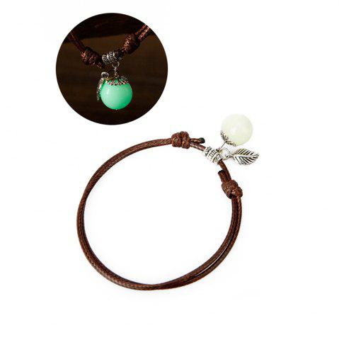 Outfits Women Ankle Chain Vintage All Matched Luminous Fashion Accessory YMJL-coffe