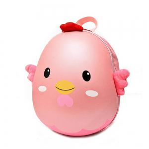 KidBackpack Kindergarten Zip Closure Cartoon Kids Bag -