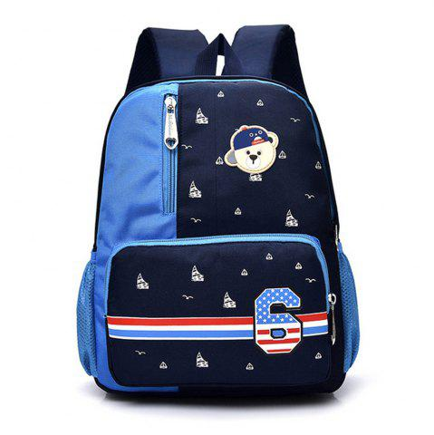 Trendy Boy/GirlBackpack Bear Applique Backpack
