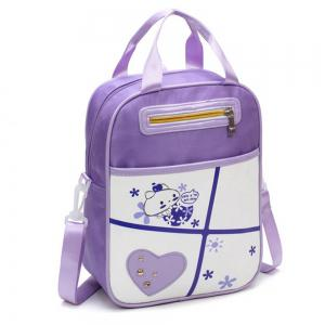 Girl Shoulder  Multi Function Cartoon Pattern Book Bag -