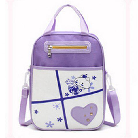 Best Girl Shoulder  Multi Function Cartoon Pattern Book Bag