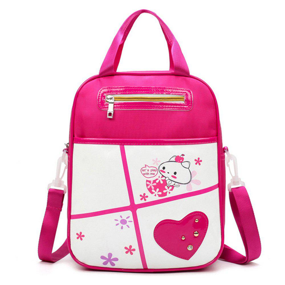 Cheap Girl Shoulder  Multi Function Cartoon Pattern Book Bag