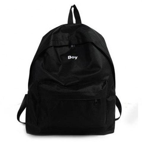 Buy Women's Backpack Solid Color Large Capacity Trendy School Bag