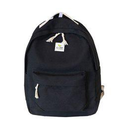 Women's Backpack Fresh Style Preppy All Match Canvas Bag -