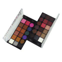 GORON F2025 18 Colors Shimmer Matte Eye Shadow Palette Mineral Eye Makeup 1pc -