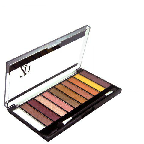 Sale ZD F2067 11 Colors Shimmer Eye Shadow Blusher Palette 1pc