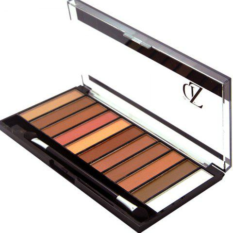 Online ZD F2067 11 Colors Shimmer Eye Shadow Blusher Palette 1pc