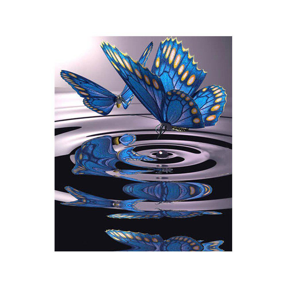 Trendy Naiyue 9006 Water Butterflies Print Draw Diamond Drawing