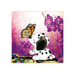 Naiyue 9491 Warm Puppies Print Draw Diamond Drawing -