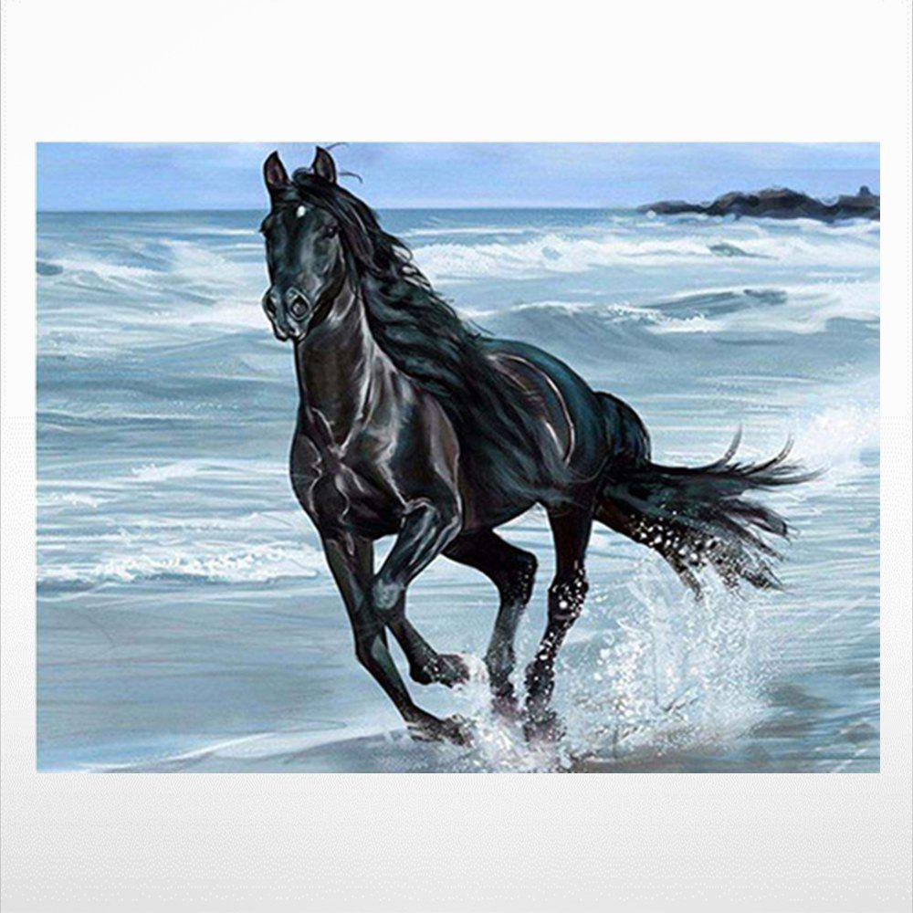 Latest Naiyue 9666 Horses Print Draw Diamond Drawing