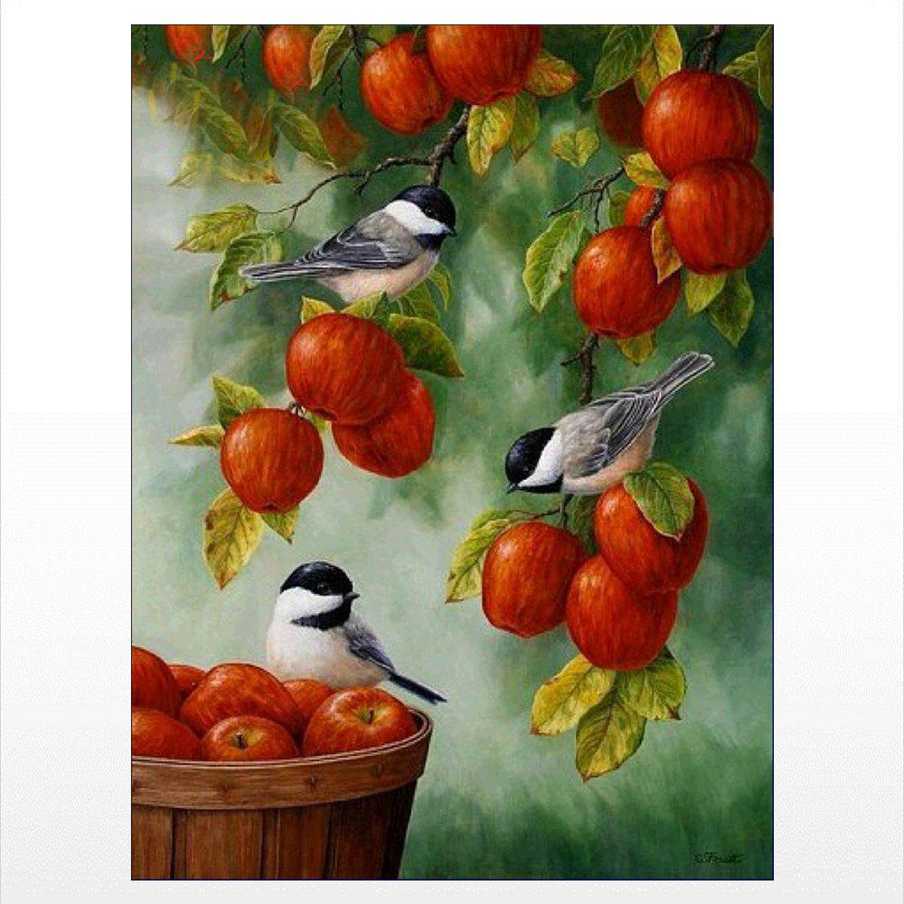 New Naiyue J750 Bird Fresh Fruit Print Draw Diamond Drawing