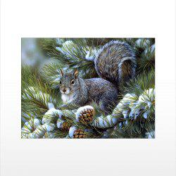 Naiyue J757 Squirrel Print Draw Diamond Drawing -