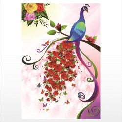 Naiyue Peacock Series Print Draw Diamond Drawing -