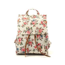 Waterproof Backpack for Women Floral Girls School Backpack -