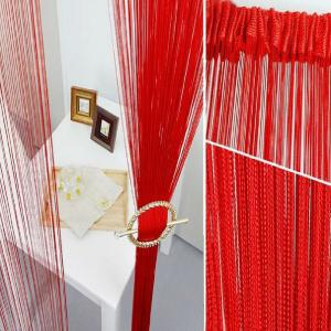 Straight Line Curtain Room European Curtain -