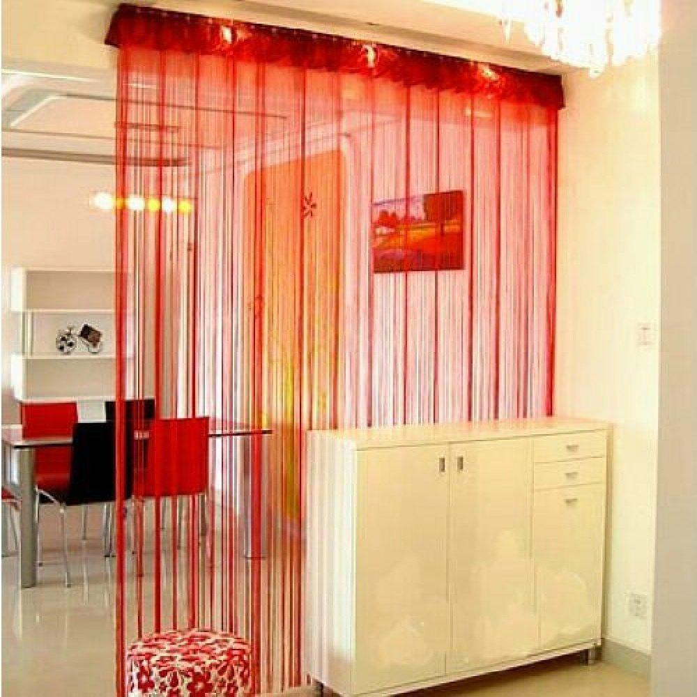 Hot Straight Line Curtain Room European Curtain