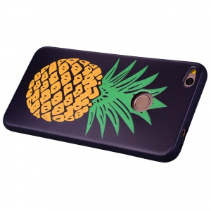 Pineapple Phone Case for Huawei P9 Lite 2017 Fashion Cartoon Relief Soft Silicone TPU P9lite 2017 Cover Cases Protection -