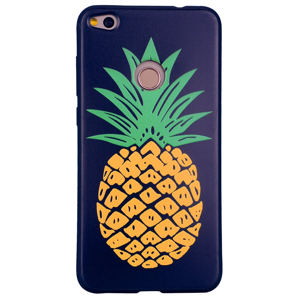 Sale Pineapple Phone Case for Huawei P9 Lite 2017 Fashion Cartoon Relief Soft Silicone TPU P9lite 2017 Cover Cases Protection