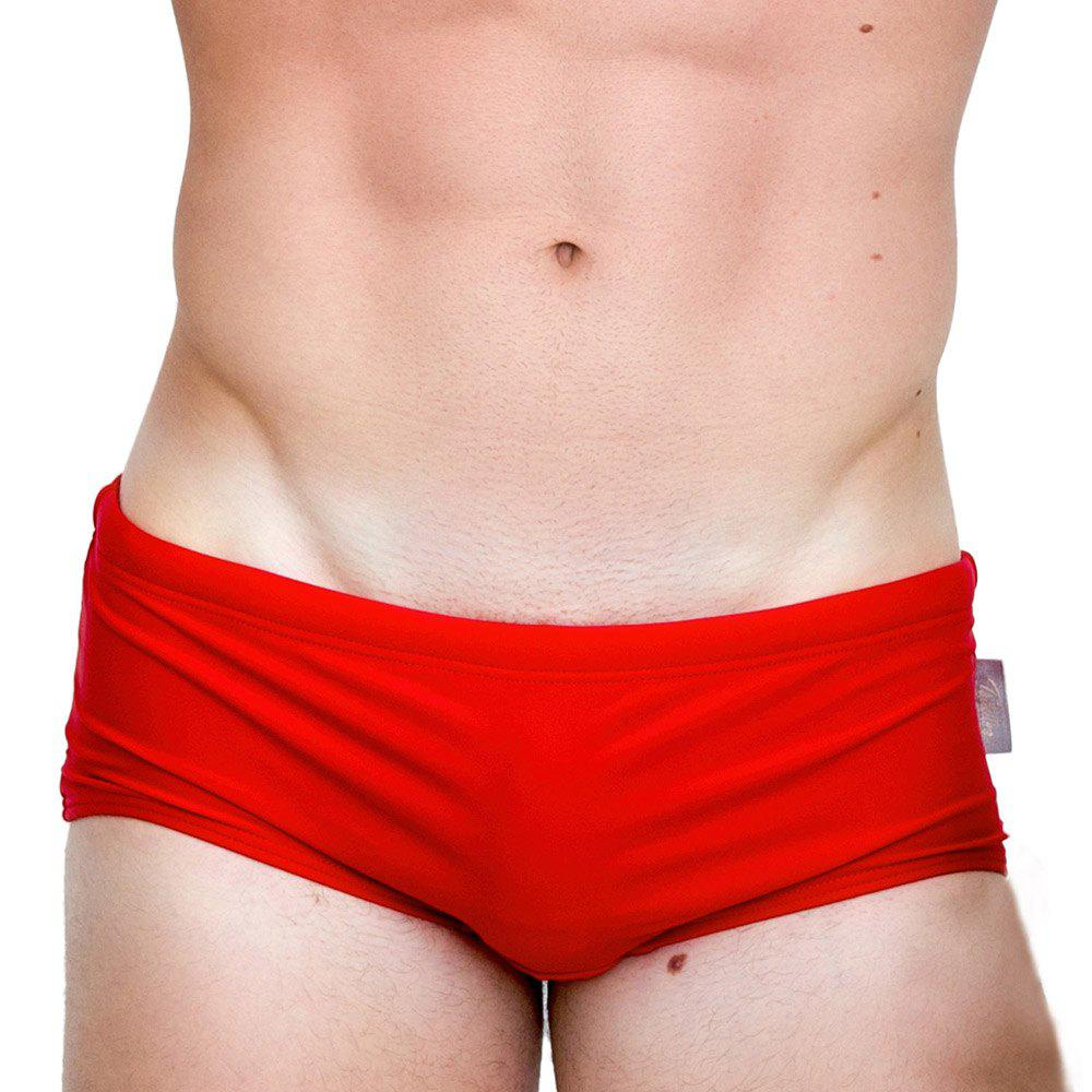 Latest Taddlee New Sexy Men's Swimwear Swimsuits Swim Boxer Briefs Solid Pure Color Surf Board Trunks Swimming Bikini Sports