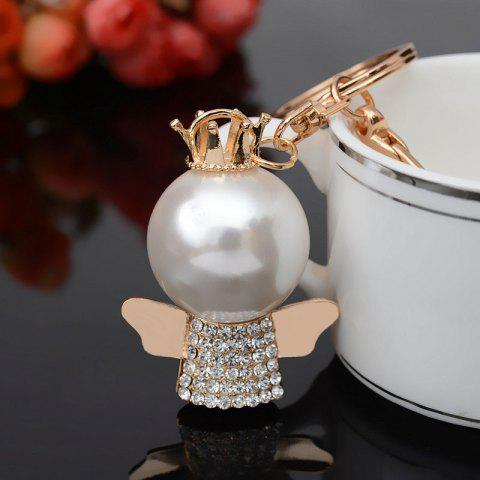 Online Fashion Great Pearl Ornament Set Auger Bag Buckles Auto Accessories Key Chain