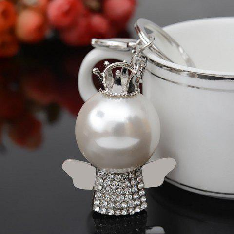 Outfit Fashion Great Pearl Ornament Set Auger Bag Buckles Auto Accessories Key Chain