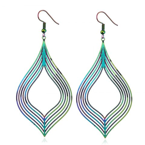 Fancy The New Stainless Steel Dazzle Colour Earrings Earrings Metal Accessories