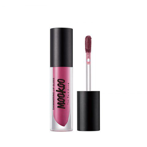 New MOOKOO Shimmering Lip Gloss Moisturizing and Nourishing -Water Resistant