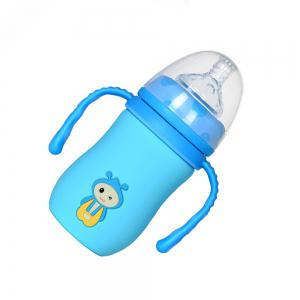 Wide mouth automatic glass bottle MY0144 -