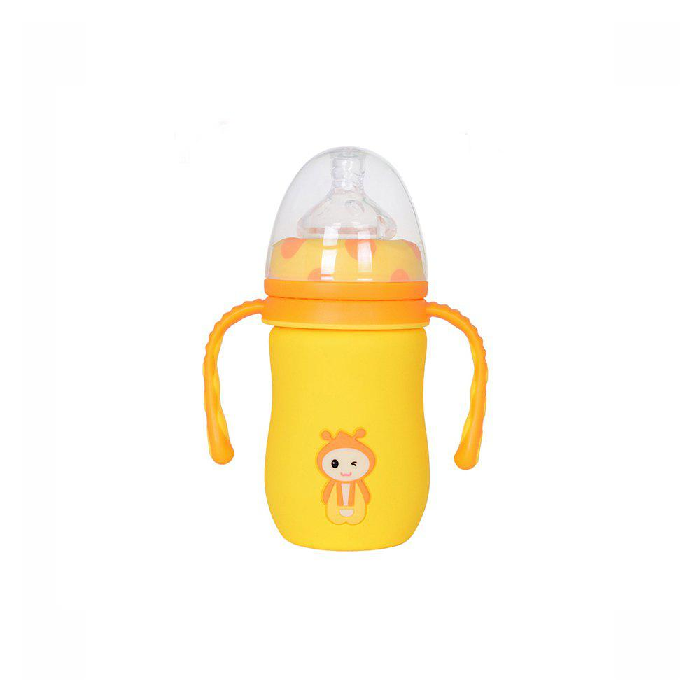Latest Wide mouth automatic glass bottle MY0144