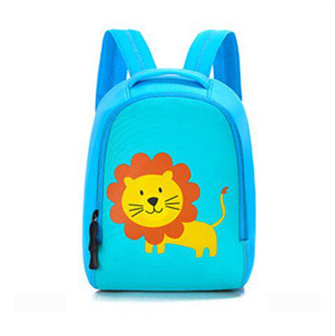 New Children bag baby kindergarten backpack cartoon animal diving material four needle six line package