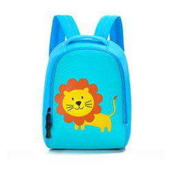 Children bag baby kindergarten backpack cartoon animal diving material four needle six line package -