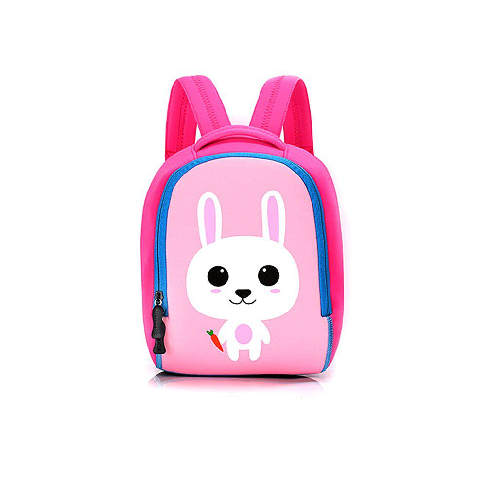 Affordable Children bag baby kindergarten backpack cartoon animal diving material four needle six line package