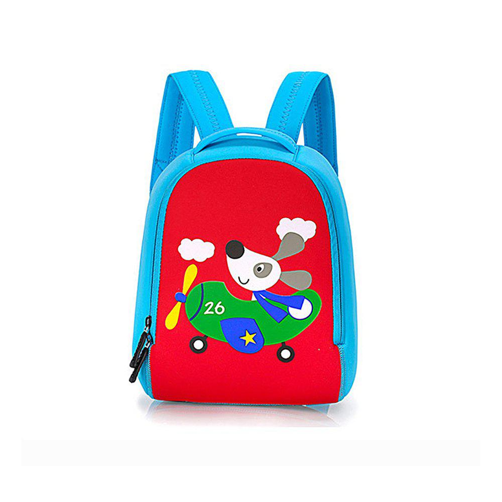 Store Children bag baby kindergarten backpack cartoon animal diving material four needle six line package