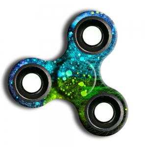 Stress Relief Toy Camouflage Finger Spinner -