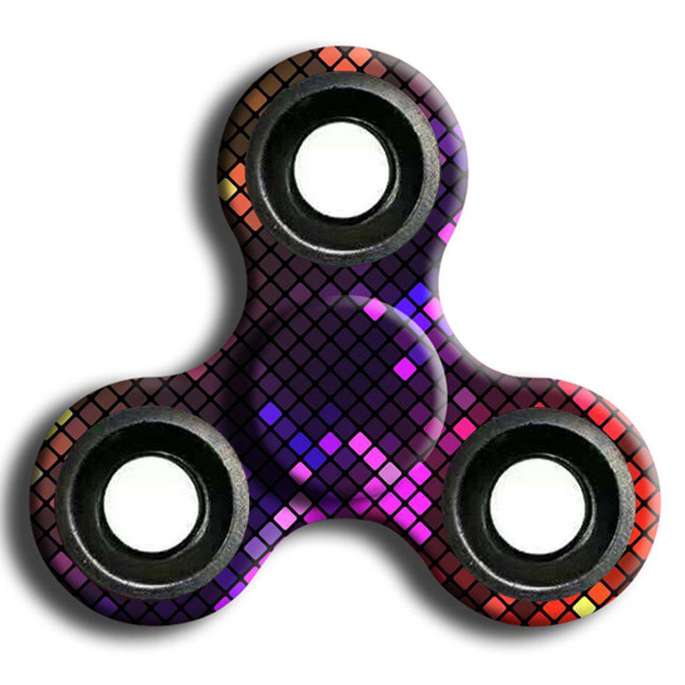 Trendy Stress Relief Toy Camouflage Finger Spinner
