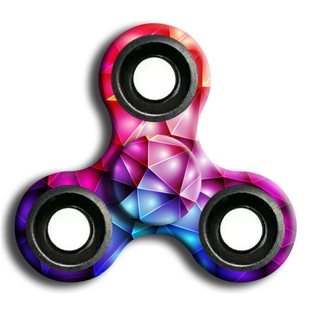 New Stress Relief Toy Camouflage Finger Spinner