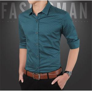 Men'S Casual Printed Shirt -