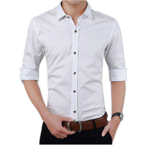 Chic Men'S Casual Printed Shirt