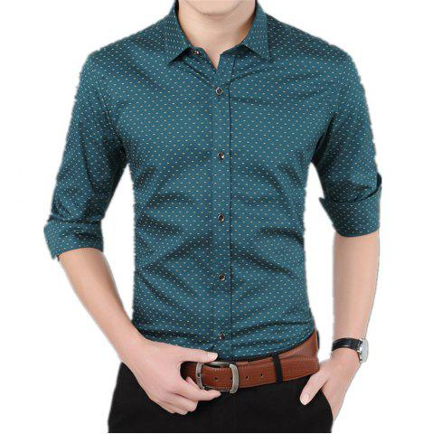 Fashion Men'S Casual Printed Shirt