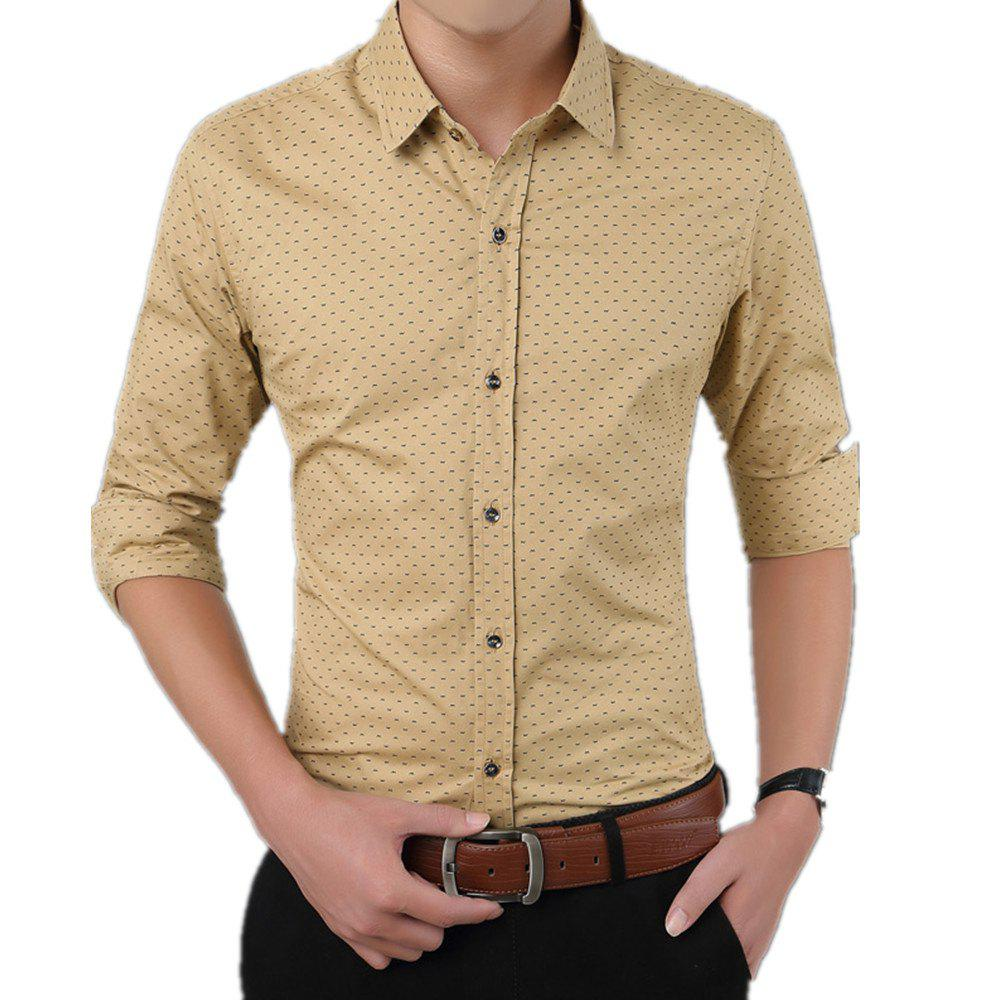 Trendy Men'S Casual Printed Shirt