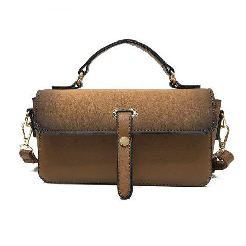 Chic Wild Messenger Bag Casual Retro Portable Shoulder Bag Small Square Package