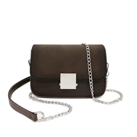 New Chain Small Square Shoulder Messenger Bag Fashion Wild Lock Handbags