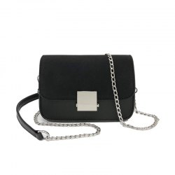 Chain Small Square Shoulder Messenger Bag Fashion Wild Lock Handbags -