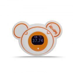 icooling T-1 Patent Wearable Smart Thermometer Accurate Continuously Measure Temperature -