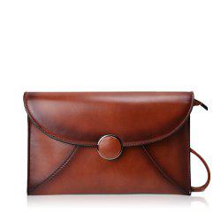 Korean fashion and durable envelope flip type tide shoulder diagonal bag -